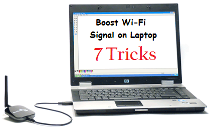 how to increase wi fi signal strength on your laptop. Black Bedroom Furniture Sets. Home Design Ideas